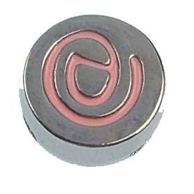 8 mm Enamel sliding fitting for 8 mm belts and strips