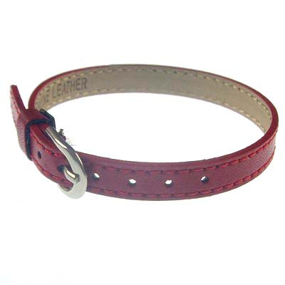 8 mm leather bracelet Multi-color optional Suitable for 8 mm letters and accessories