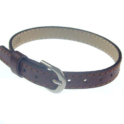 8mm brown leather hand strap for 8mm letters and accessories