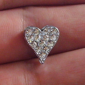 8 mm  rhinestone sliding accessory for 8 mm belts and strips