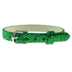 Green – 8mm leather bands slide charm bracelets-Bling Bling
