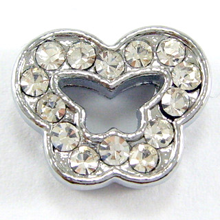 8 mm rhinestone sliding fitting for 8 mm belts and strips