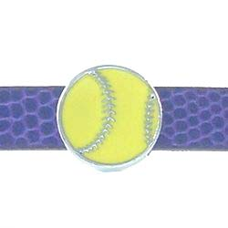 8 mm enamel sliding volleyball accessory for  8mm belts and strips