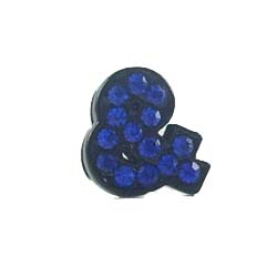 8 mm black enamel mixed color cross sliding accessories for 8 mm belts and strips