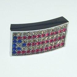 18 mm sliding fitting for 18 mm stainless steel belt and belt