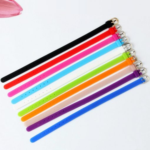 8 mm silicone bracelet  For 8 mm accessories Multi-color optional.