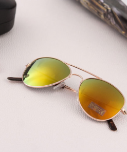 Larger children's sunglasses, adult sunglasses  gold