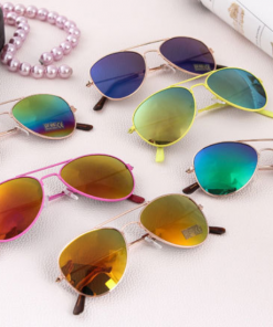 Larger children's sunglasses, adult sunglasses  color mixing