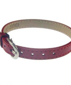 8 mm simulation leather bracelet for 8 mm accessories red