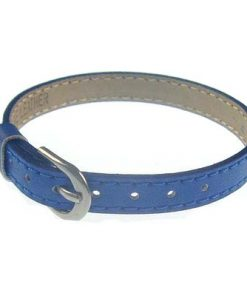 8 mm simulation leather bracelet for 8 mm accessories dark blue