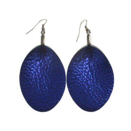 Fashion Leather earrings Suitable for all types of people, lightweight and comfortable stainless steel earrings hook