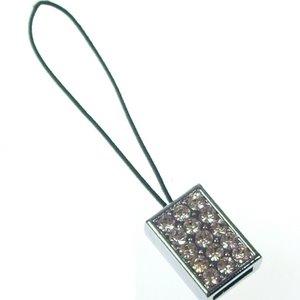 8 mm Rhinestone DIY mobile phone buckle accessories