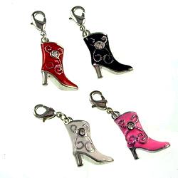 3D Alloy enamel pendant, bag pendant. Easy to use. Wide range of uses