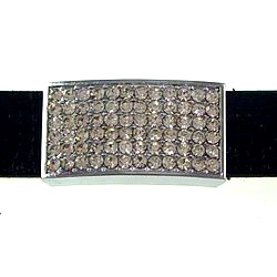 18 mm rhinestone fitting for 18 mm belts and strips