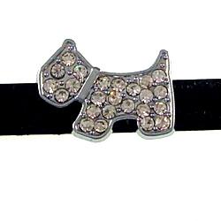 10 mm dog sliding fitting for 10 mm stainless steel belt and belt