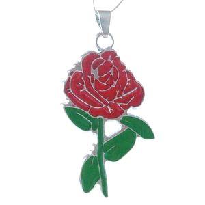 18″ necklace, pendant, 1 set