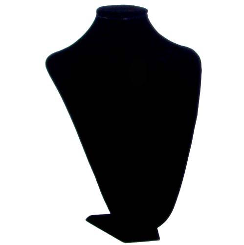 Black flannel half body model 35*25 cm