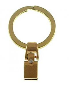 DIY 8 mm key chain accessory for 8 mm straps