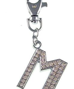 30mm pendant letters for backpacks Keys Extra large buckle for easy access A to Z optional