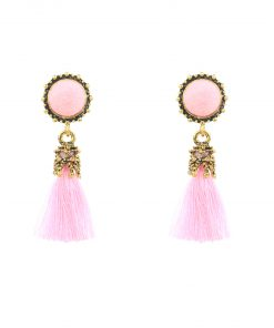 National style tassel earrings Korean version of the palace style retro tassel earrings   accessories YHY-050