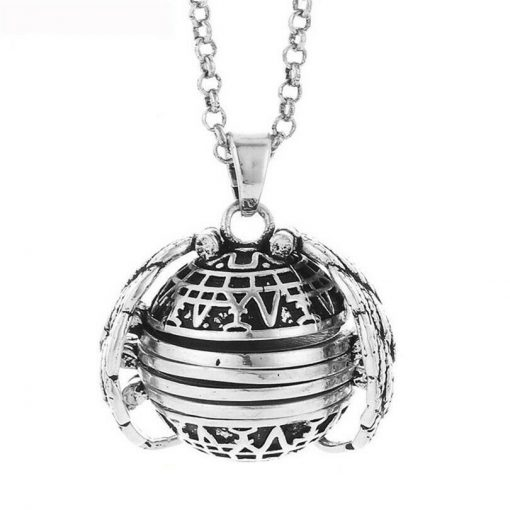 Creative retractable necklace photo locket multi-layer photo can open the item box aroma pendant +necklace YWhy-004