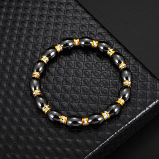Hot Selling Black Magnet Bracelet Alloy Bracelet YHY-098