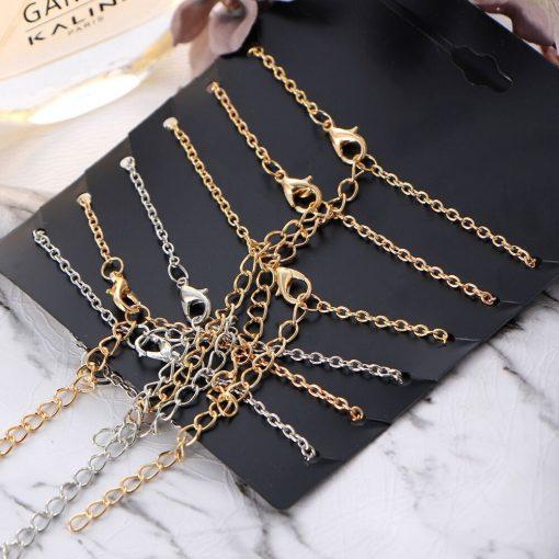 Hot anklet bracelet set simple fashion geometric alloy set jewelry wholesale YHY-096