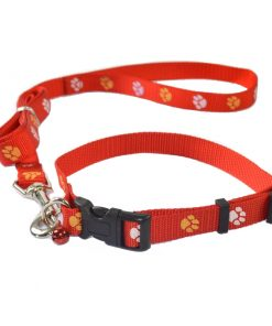 Hand pull the dog belt. Suitable for small and medium dogs. 54*0.65 inches