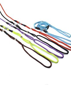 6.5 mm round nylon rope pull dog strap. Suitable for small and medium dogs. 56* inches