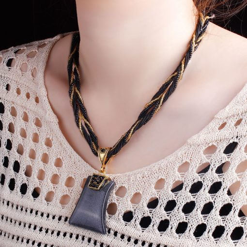 Hot retro item sweater chain Necklace wholesale National style necklace jewelry YHY-105