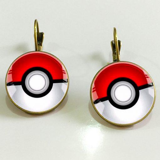 Retro Time Gem Pokemon French Hook New Earrings YFT-092