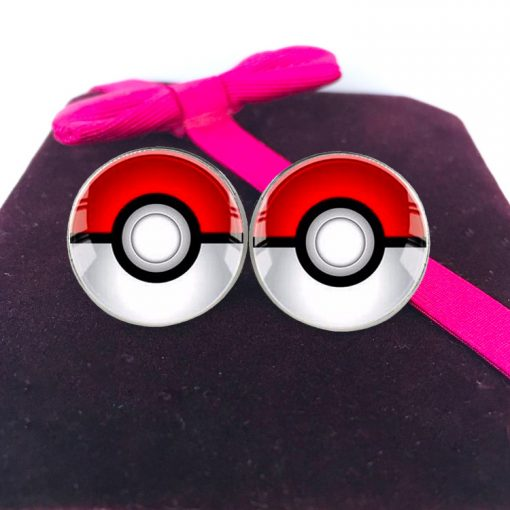 Hot Pokémon Time Gem Pokemon Stud Earrings Manufacturer Wholesale YFT-097