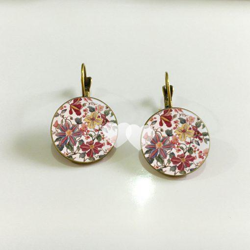 Hot sale Chrysanthemum Time gem Unique style Earrings YFT-061