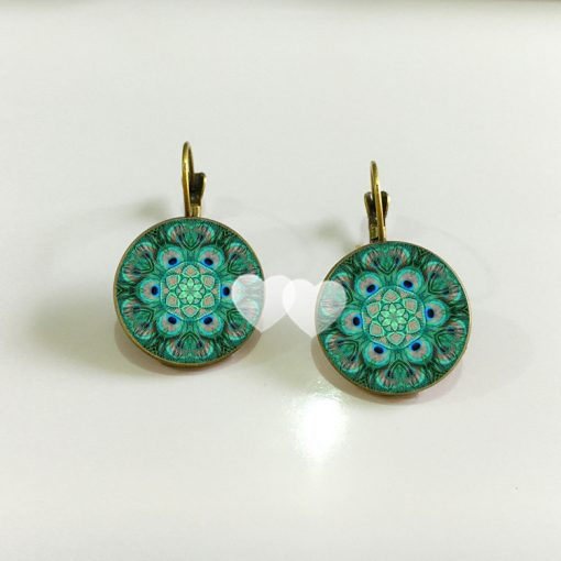 Bohemian retro time gemstone earrings manufacturers wholesale yft-075