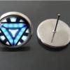 Avengers Iron Man Time Gemstone Stud Earrings YFT-055
