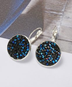 New Europe and the United States popular color diamond personality earrings YFT-116