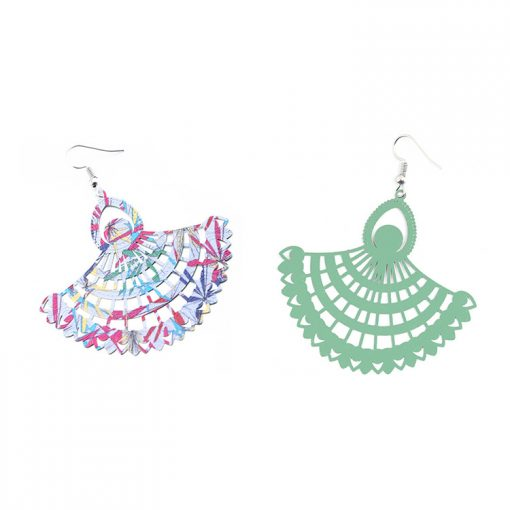 New paint painting National wind earrings wholesale YNR-037