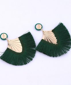 Women's new creative fashion tassel earrings trend jewelry factory direct YHY-012