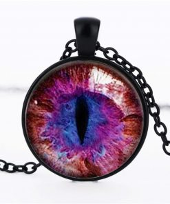 Time Gemstone Eye Necklace Jewelry Pendant Wholesale YFT-134