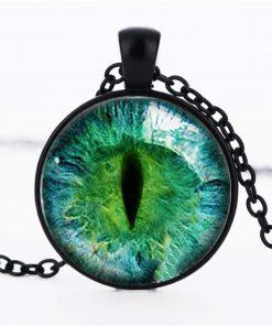 Time Gemstone Eye Necklace Jewelry Pendant Wholesale YFT-133