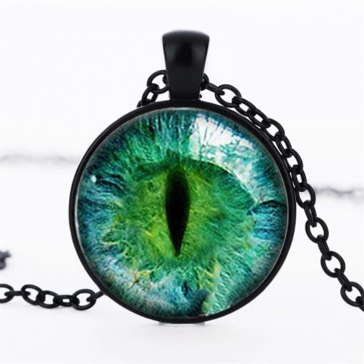 Time Gemstone Eye Necklace Jewelry Pendant Wholesale YFT-133