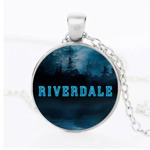 River Valley Town Riverdale   Men and Women Time Gemstone Necklace PendantYFT-144