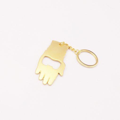 Sanos tyrant Thanos Avengers Necklace Iron Man Pendant Bracelet Keychain Opener YFT-149