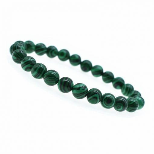 8MM Fashion Malachite Bracelet Charm Jewelry Factory Wholesale HYue-049