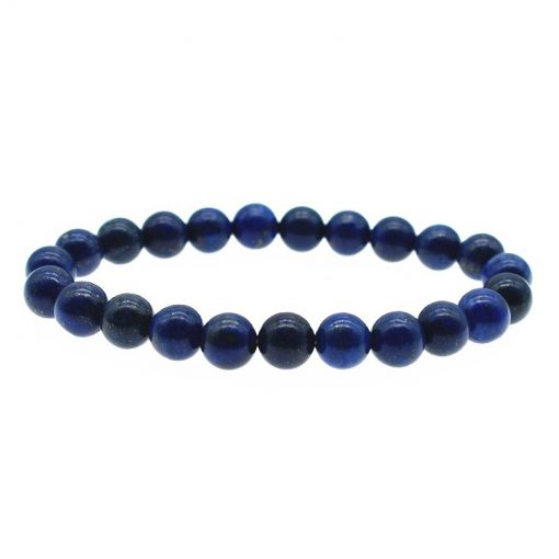8MM Natural Lapis Lazuli Fashion Single Loop Bracelet Wholesale HYue-040