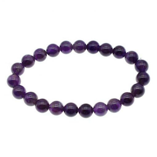 Natural Amethyst Bracelet Uruguay Luxury Women's Single Loop Bracelet Yiwu Jewelry Factory Wholesale HYue-058