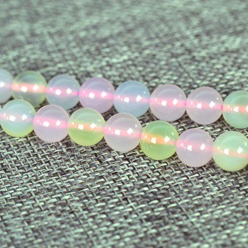 Brazil Morganite Onyx Loose Beads 6-10mm Beads Gem Beads GLGJ-093