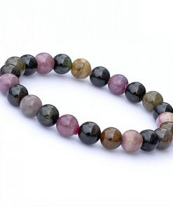 6-11MM natural stone simple and generous tourmaline finished bracelet wholesale GLGJ-151