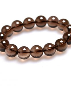 5-10mm natural brown crystal finished bracelet factory wholesale GLGJ-153