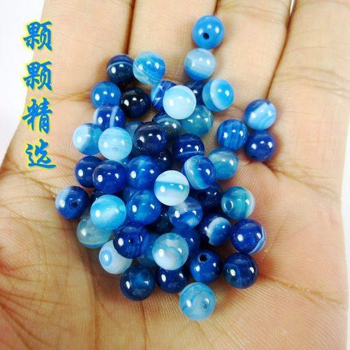 Sea blue sky beads agate DIY agate wholesale GLGJ-120